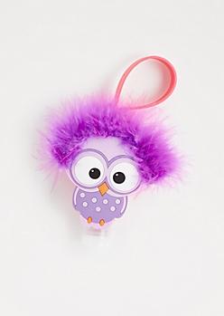 Vanilla Cupcake Fluffy Owl Hand Sanitizer