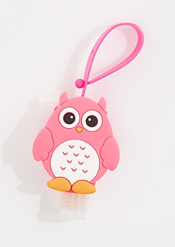 Lollipop Sanitizer & Owl Case