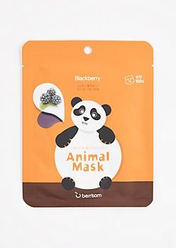Panda Blackberry Sheet Mask by Berrisom