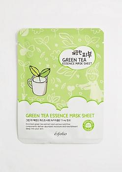 Green Tea Essence Mask Sheet by Esfolio