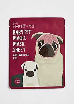 Pug Baby Pet Magic Mask Sheet By Holika Holika