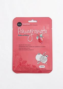 Pomegranate Sheet Mask By Celavi