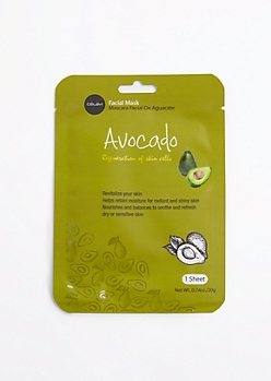 Avocado Sheet Mask By Celavi