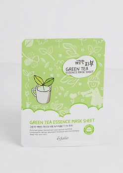 Green Tea Mask Sheet by Esfolio