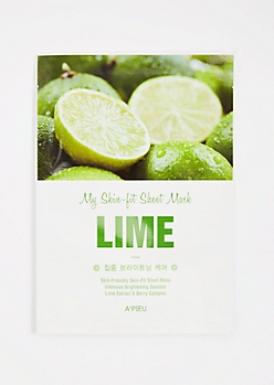 Lime Sheet Mask By A
