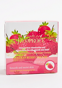 Strawberry Yogurt Massage Cream by Premium Deopruce