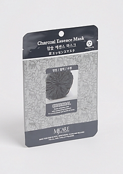 Charcoal Essence Sheet Mask By Mijin Cosmetics