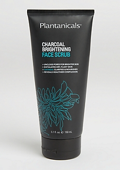 Charcoal & Black Mud Exfoliating Face Scrub By Plantanicals