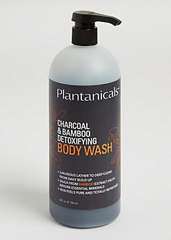 Charcoal & Bamboo Detoxifying Body Wash By Plantanicals
