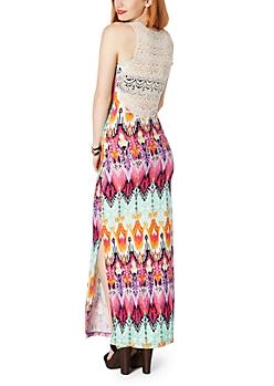 Trippy Tribal Maxi Dress