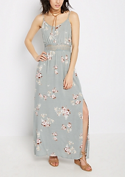 Wildflower Illusion Maxi Dress