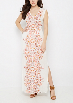 Wildflower Maxi Dress By Clover + Scout