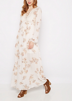 Floral Gauze Maxi Dress by Clover + Scout®