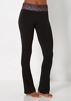 Multi-Color Diamond Yoga Pant