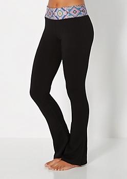 Neon Kaleidoscope Yoga Pant
