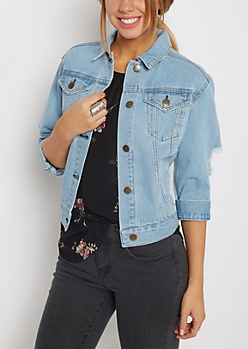 Vintage Jean Jacket By Sadie Robertson X Wild Blue