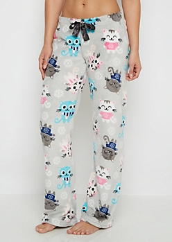Snuggle Kitten Plush Sleep Pant