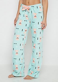Kangaroo Plush Sleep Pant