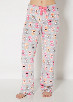 Lil' Foxes Plush Sleep Pant