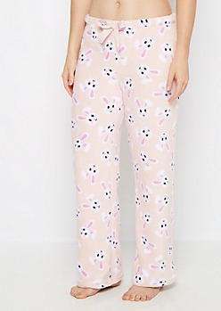 Plush Bunny Fleece Sleep Pant