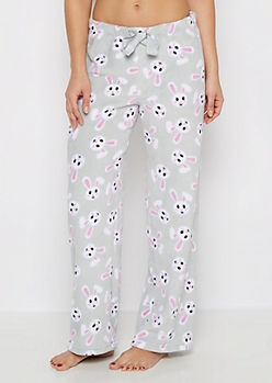 Bunny Plush Sleep Pant