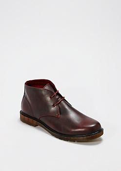 Red Chukka Boot