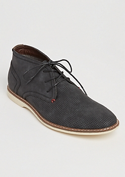 Black Vintage Wash Chukka Boots By XRay