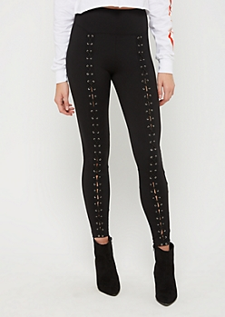 Lace Up Front Legging
