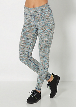 Space Dyed Cropped Legging