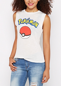 Pokemon Soft Knit Tank Top