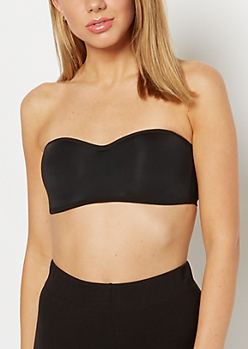Black Convertible Bandeau Bra