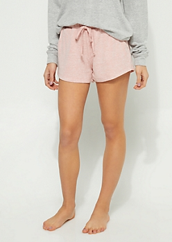 Coral Hacci Knit Shorts