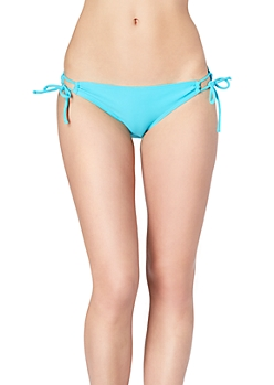 Turquoise Loop Side Tie Bottom