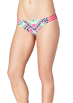Neon Tribal Caged Hipster Bottom