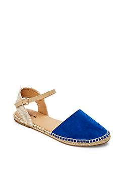 Royal Ankle Strap Espadrille Sandal By Qupid®