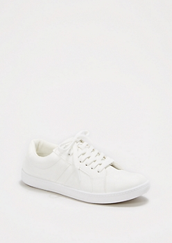Classic White Sneaker by Wild Diva®