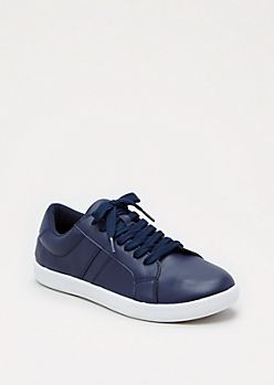 Classic Navy Sneaker by Wild Diva®