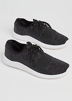 Black Marled Tonal Trainer