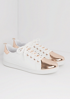 Rose Gold Tipped Sneaker