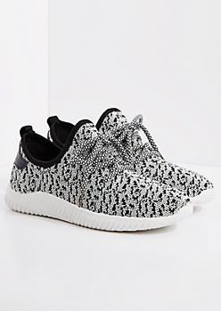 Speckled Mesh Trainer By Qupid