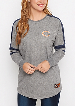 Chicago Bears Athletic Striped Sweatshirt