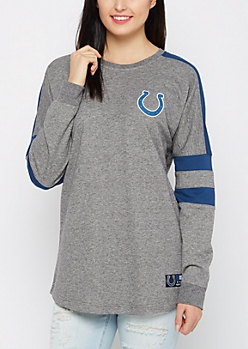 Indianapolis Colts Athletic Striped Sweatshirt