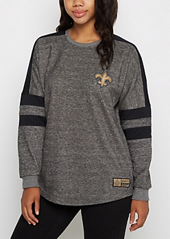 New Orleans Saints Cropped Hoodie