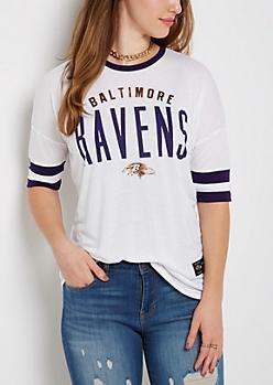 Baltimore Ravens Foiled Ringer Tee