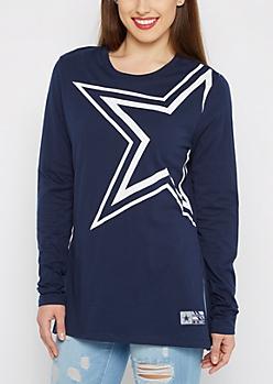 Dallas Cowboys Logo Long Sleeve Tee