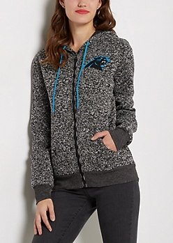 Carolina Panthers Zip Sweater Hoodie