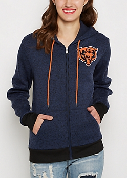 Chicago Bears Zip Sweater Hoodie