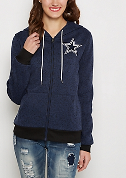 Dallas Cowboys Zip Sweater Hoodie