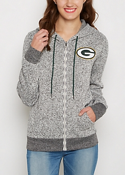 Green Bay Packers Zip Sweater Hoodie