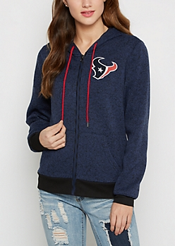 Houston Texans Zip Sweater Hoodie